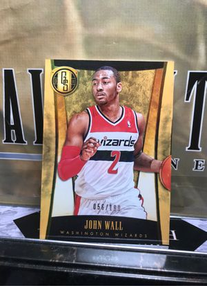 JOHN WALL GOLD STANDARD/199 WIZARDS AS SHOWN for Sale in Jersey City, NJ