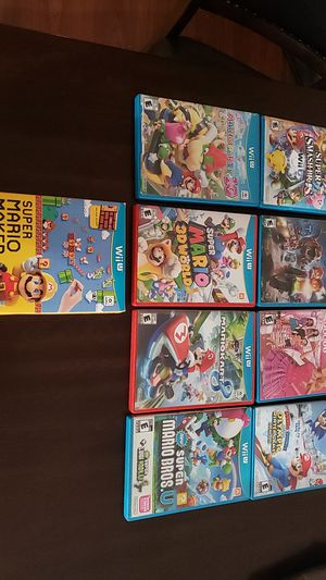 Wii u games for Sale in American Canyon, CA