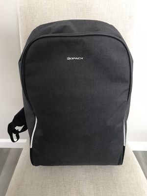 KOPACK Waterproof Anti Theft Laptop Backpack USB Charging Port with Rain Cover 15.6 Inch, Gray Black for Sale in Auburn, WA