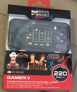 MY ARCADE GAMER V - Lot of 220 RETRO GAME HANDHELD PORTABLE SYSTEM for Sale in Las Vegas, NV