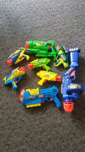 Bunch of nerf guns for Sale in Lakewood, CA