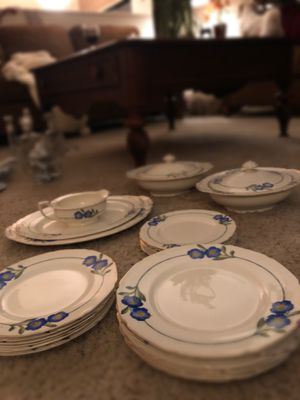 Antique Floral Handmade China Set from England for Sale in Redmond, WA