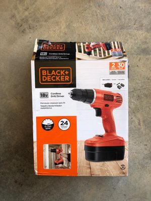 Black and decker cordless drill for Sale in Cedar Hill, TX