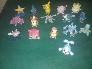 Vintage 1996 Pokemon Figures Collectibles / Great for Card Collector for Sale in Nashville, TN