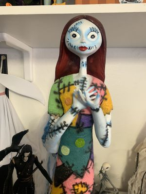 Nightmare Before Christmas Sally Disney statue figurine figure for Sale in Las Vegas, NV