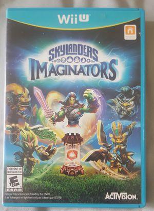 Wii U skylanders imaginators game only nintendo for Sale in Southampton, PA