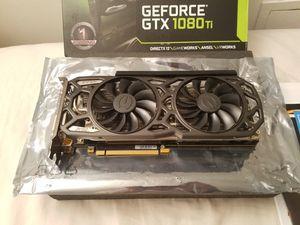 EVGA GTX 1080 Ti Black Edition GAMING GPU Graphics Card for Sale in Glenview, IL