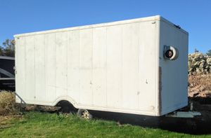 Enclosed trailer, double axle, barn doors, storage for Sale in Chandler, AZ
