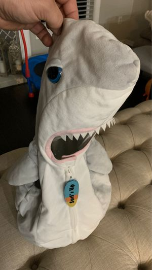 Baby shark costume size 18months for Sale in Land O Lakes, FL