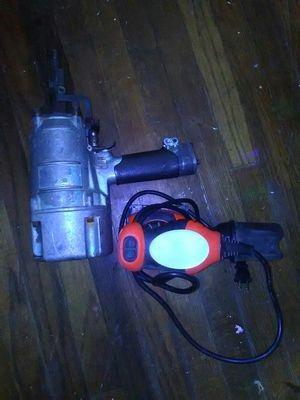 Hitachi nail gun+sander black decker for Sale in Atlanta, GA
