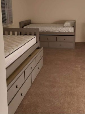 Twin bed with trundle for Sale in Tracy, CA