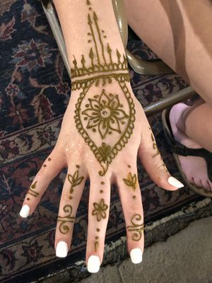 Bohemian henna tattoos for Sale in Palm Springs, CA