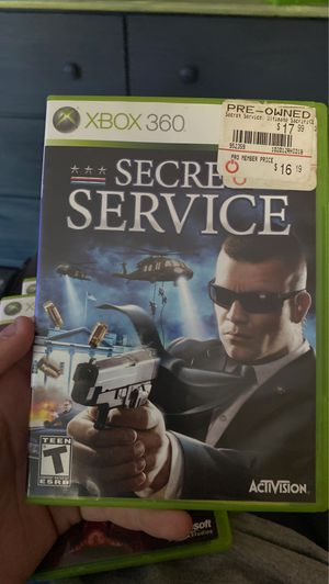 Secret service Xbox 360 video game for Sale in Braintree, MA