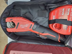 Milwaukee 12v tube cutter with battery and charger 75$!!! for Sale in Fort Worth, TX