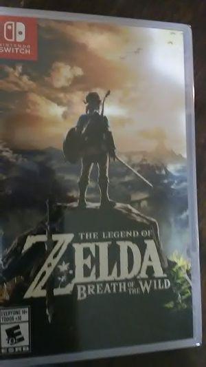 Nintendo switch Zelda game for Sale in Las Vegas, NV
