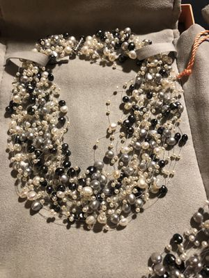 Tiffany Iridesse pearl necklace and bracelet. for Sale in West York, PA