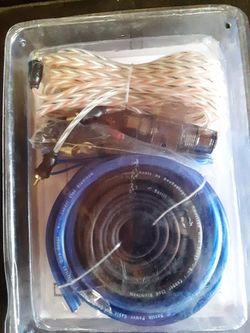 Amp Wire Kit  for Sale in Fontana, CA
