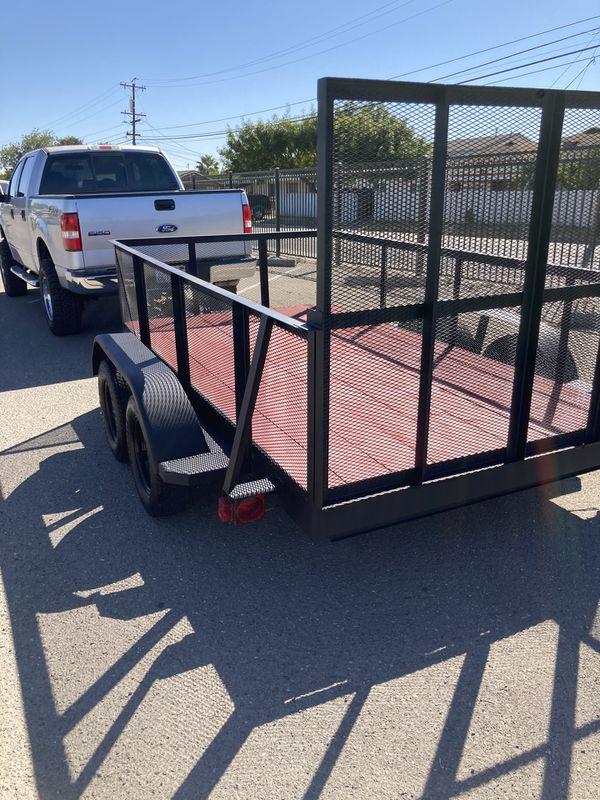 2020 doble axle utility trailer