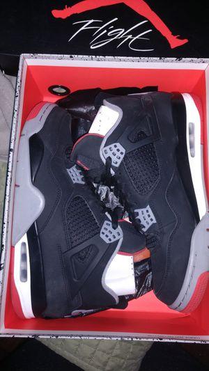 Jordan 4 Retro Bred Size 10 for Sale in Tampa, FL