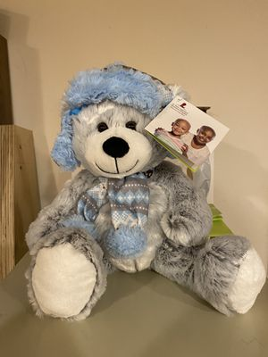 "St Judes Winter Teddy Bear 18"" inch for Sale in Ontario, OH"
