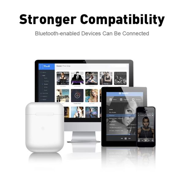 Bluetooth AIRPODS Metal