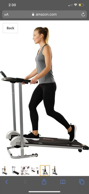 Sunny health and fitness treadmill for Sale in Ruskin, FL
