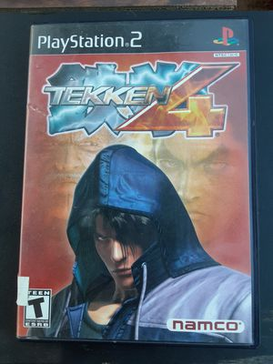 TEKKEN 4 PS2 game with memory card for Sale in Washington, DC