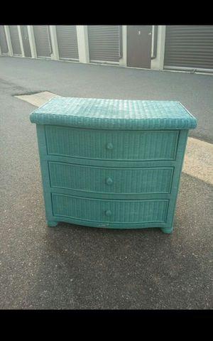 Wicker dresser for Sale in Virginia Beach, VA