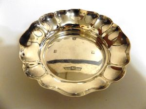 1960 Solid (83.3 Grams) Sterling Silver dish by Poston Products Ltd of Birmingham England. for Sale in Quitman, TX