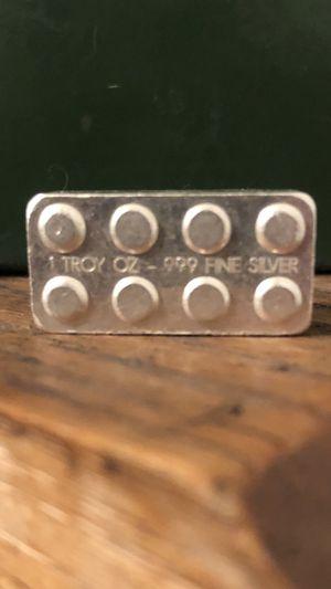 3, 1 Troy Oz Pure Silver LEGO's for Sale in Rancho Santa Margarita, CA