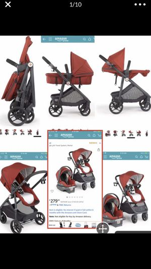 GB Lyfe travel system (stroller/ car seat and base) $100 for Sale in Montclair, CA