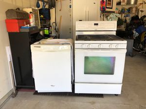 Gas range and dish washer for Sale in Snohomish, WA