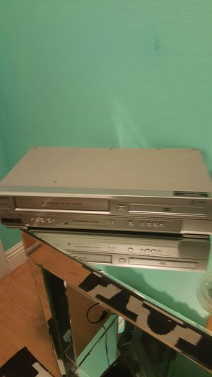 Sanyo Dvd/Vhs Player...Works Great! for Sale in Modesto, CA