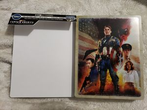 Captain America The First Avenger 4K Steelbook for Sale in Bellflower, CA