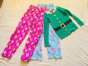 3 Pcs Girls Pj's Sz 10 for Sale in Gilroy, CA