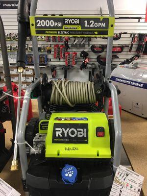 RYOBI electric pressure washer take 25% OFF for Sale in San Diego, CA