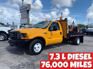 Ford Super F350 FLAT BED 7.3 L low miles for Sale in St.Petersburg, FL