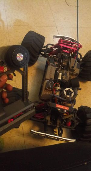 TRAXXAS REMOTE GAS CAR for Sale in Roanoke, VA