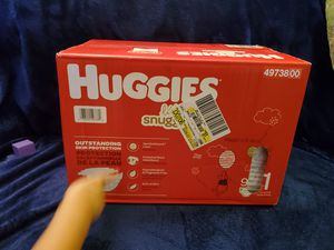 Huggins size 1 diapers 96 count for Sale in Lake Shore, MD