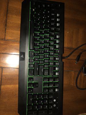 Razer Blackwidow Mechanical Keyboard for Sale in Whitesboro, TX