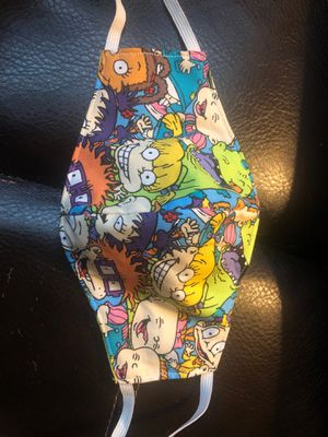 Rugrats 90's Fabric Face Mask for Sale in Columbus, OH