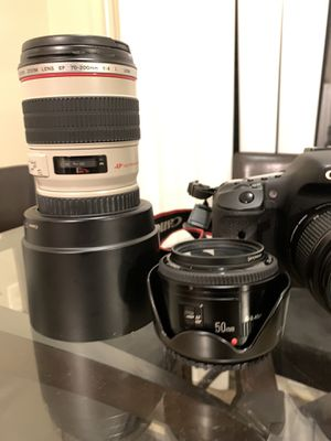 Canon 7D with Lenses for Sale in Monroe, NC
