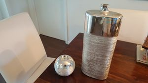 Candle holder and a decorative vase for Sale in Port St. Lucie, FL