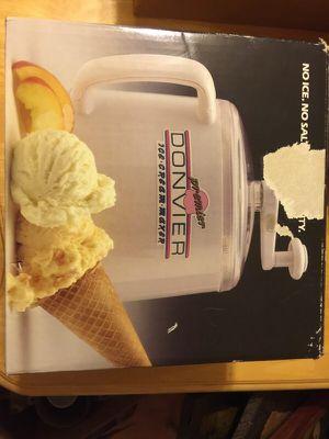 Manual ice cream maker for Sale in Sunbury, OH