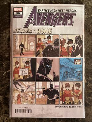"""Avengers #36 """"Heroes At Home"""" Variant (Marvel Comics) for Sale in Fremont, CA"""