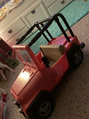 Doll Jeep for Sale in Burnsville, MN