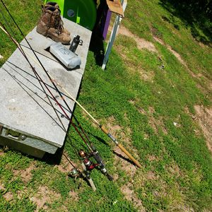 Fishing poles and tool box for Sale in Cumberland, VA