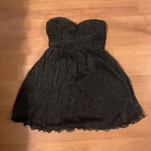 Black Dress with Gold Sparkles for Sale in Houston, TX