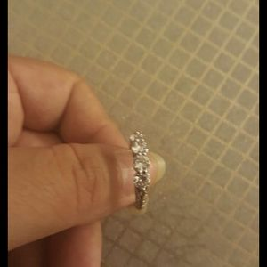 Women Fashion White Sapphire Wedding Ring Size Size 7 for Sale in Moreno Valley, CA