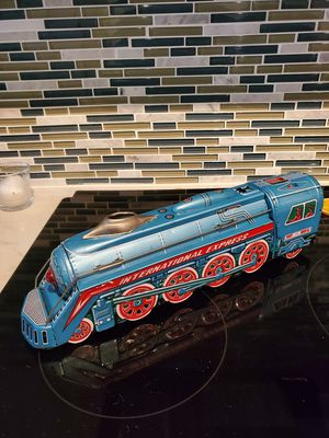 """Tin Friction Toy Train 15"""" long for Sale in Silver Spring, MD"""
